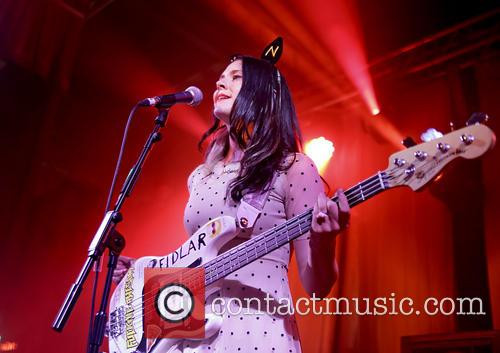 Kate Nash performs live at East Village Arts Club