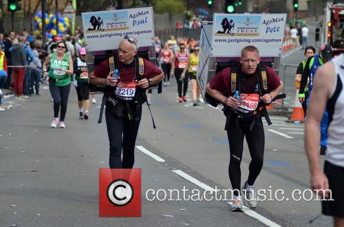 The London Marathon Runners 4