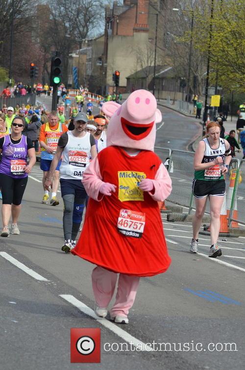 The London Marathon Runners 6