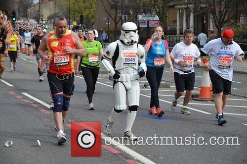 The London Marathon Runners 11