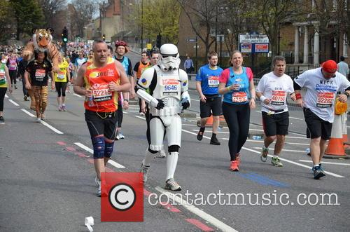 The London Marathon Runners 1