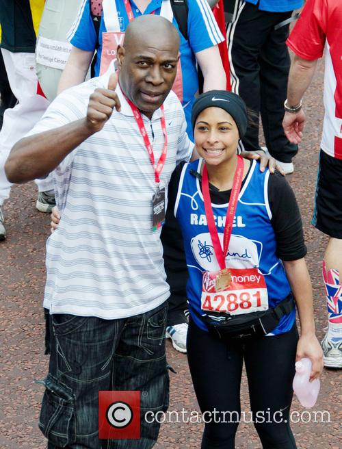 Frank Bruno and Daughter Rachel 6