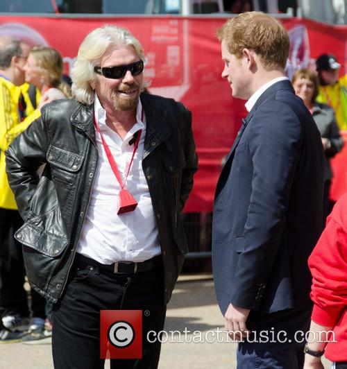 Sir Richard Branson and Prince Harry 3