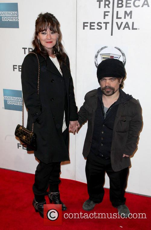 Emmy Gold and Peter Dinklage 2