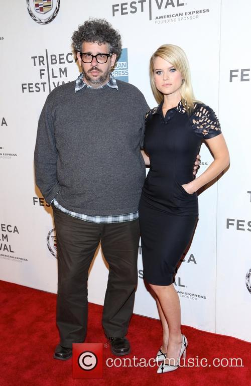 Neil Labute and Alice Eve 1