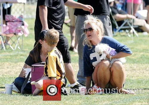 britney spears britney spears at her sons 3620002