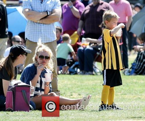 Britney Spears and Jayden James Federline 4
