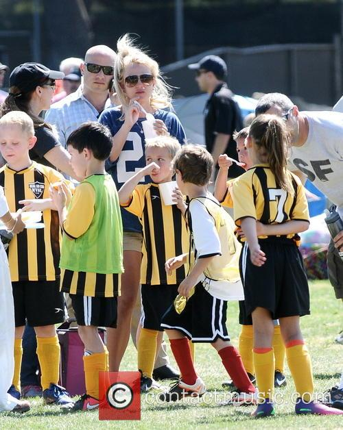 Britney Spears and Jayden James Federline 7