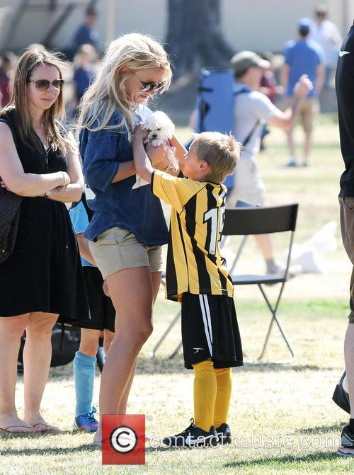 Britney Spears and Jayden James Federline 17