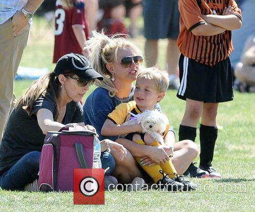 Britney Spears and Jayden James Federline 22