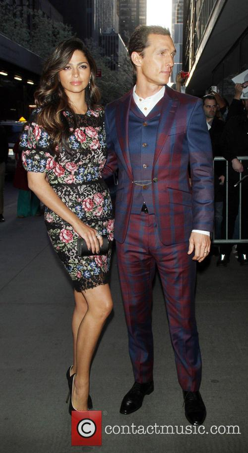 Camila Alves and Matthew Mcconaughey 2