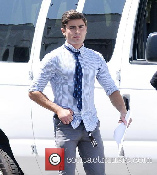 Zac Efron rushes back to set