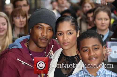 Ashley Walters, Natalie Williams and Guest 2
