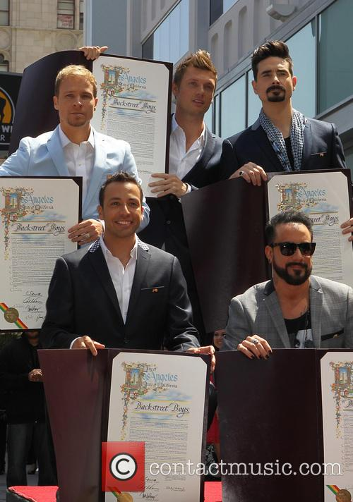 AJ McLean, Brian Littrell, Howie Dorough, Kevin Richardson, Nick Carter and Of The Backstreet Boys 11