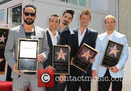 AJ McLean, Brian Littrell, Howie Dorough, Kevin Richardson, Nick Carter, Of The Backstreet Boys, Hollywood Blvd