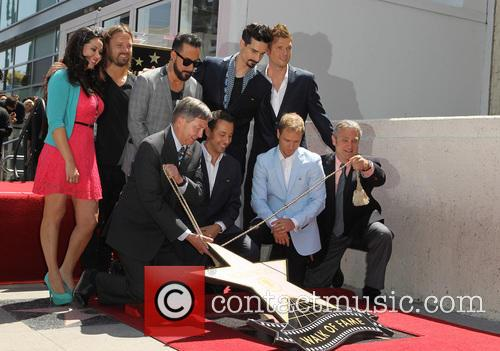 Leron Gubler, AJ McLean, Brian Littrell, Howie Dorough, Kevin Richardson, Nick Carter and Of The Backstreet Boys 2