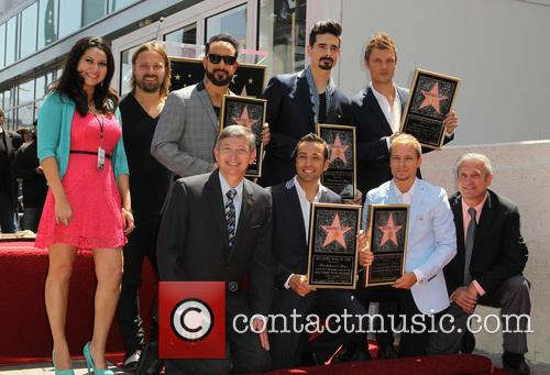 Leron Gubler, AJ McLean, Brian Littrell, Howie Dorough, Kevin Richardson, Nick Carter and Of The Backstreet Boys 4