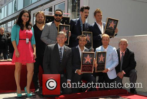 Leron Gubler, AJ McLean, Brian Littrell, Howie Dorough, Kevin Richardson, Nick Carter and Of The Backstreet Boys 1