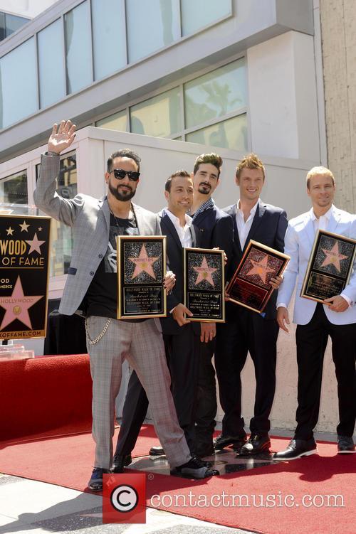 AJ McLean, Brian Littrell, Howie Dorough, Kevin Richardson, Nick Carter and The Backstreet Boys 3