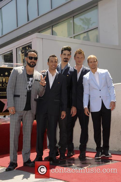 AJ McLean, Brian Littrell, Howie Dorough, Kevin Richardson, Nick Carter and The Backstreet Boys 1