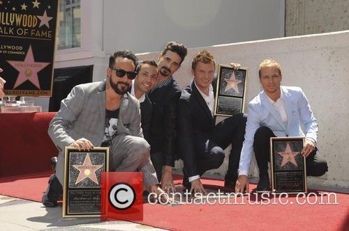 AJ McLean, Brian Littrell, Howie Dorough, Kevin Richardson, Nick Carter and The Backstreet Boys 7