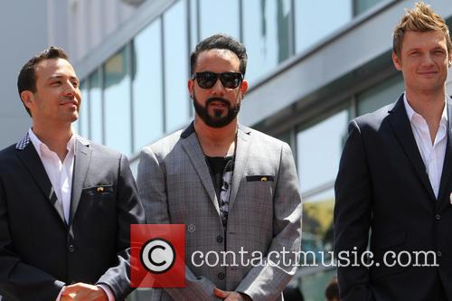 Howie Dorough, Aj Mclean and Nick Carter 7