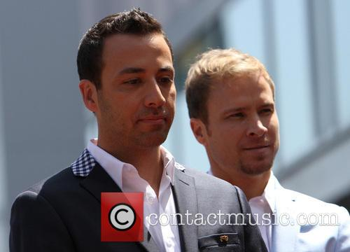 Howie Dorough and Brian Littrell 6