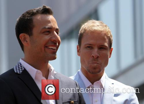 Howie Dorough and Brian Littrell 1