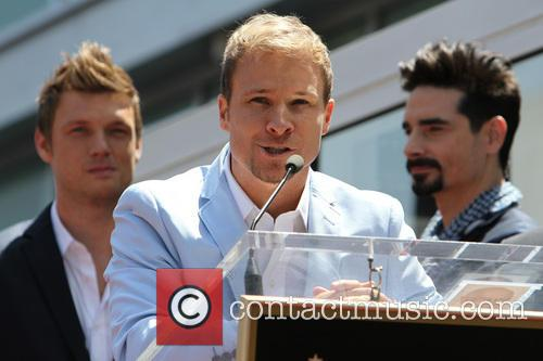 Nick Carter, Brian Littrell and Kevin Richardson 6