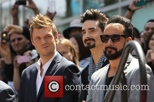 Nick Carter, Kevin Richardson and Aj Mclean 5
