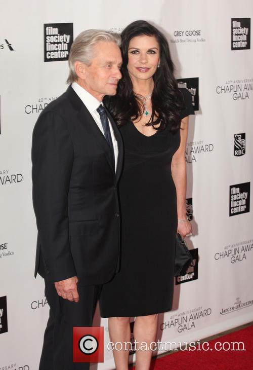 Michael Douglas and Catherine Zeta Jones 3