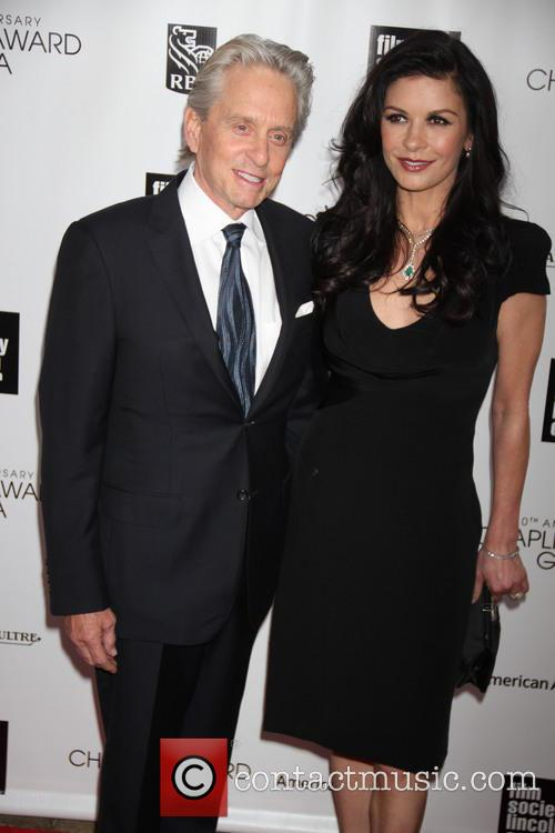 Catherine Zeta Jones and Michael Douglas 4