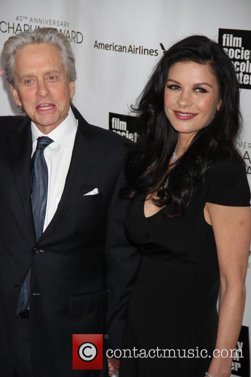 Catherine Zeta Jones and Michael Douglas 5