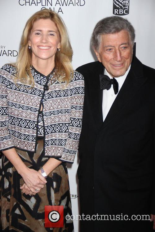 Susan Crow and Tony Bennett 2