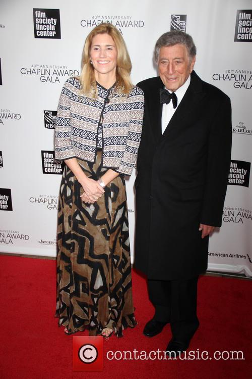 Susan Crow and Tony Bennett 1