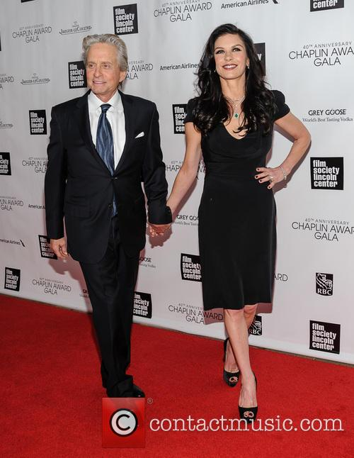 Michael Douglas and Catherine Zeta-jones 8