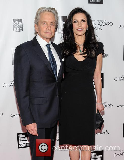 Michael Douglas and Catherine Zeta-jones 10