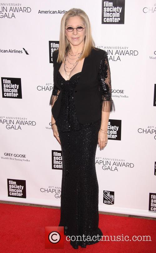 Streisand Honored with 40th Chaplin Award at Lincoln Center