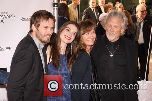 Jesse Turner Kristofferson, Kimberly Alexander, Lisa Meyers Kristofferson and Kris Kristofferson 5