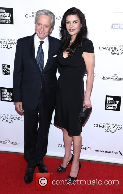 Michael Douglas and Catherine Zeta Jones 11