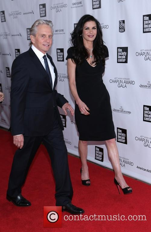 Michael Douglas and Catherine Zeta Jones 5
