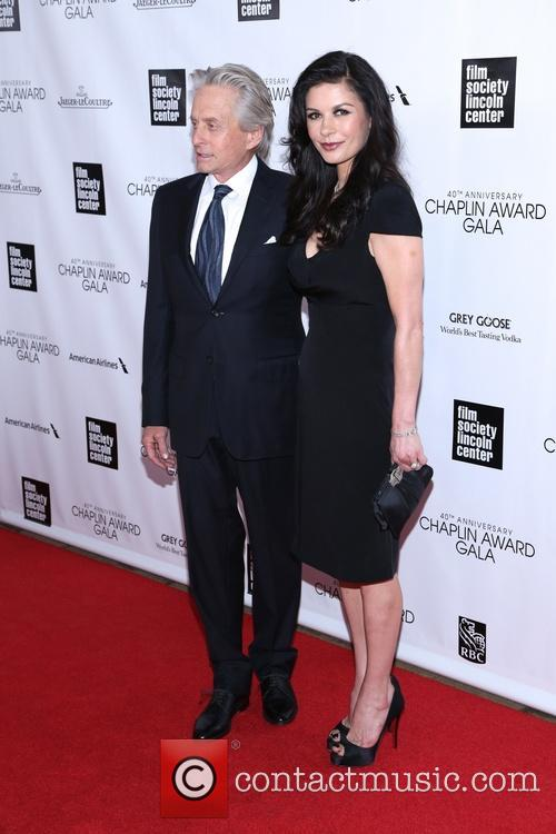 Michael Douglas and Catherine Zeta Jones 1