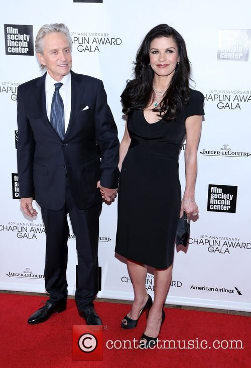 Michael Douglas and Catherine Zeta Jones 7