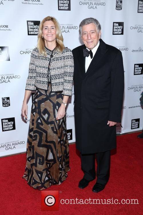 Susan Crow and Tony Bennett 3