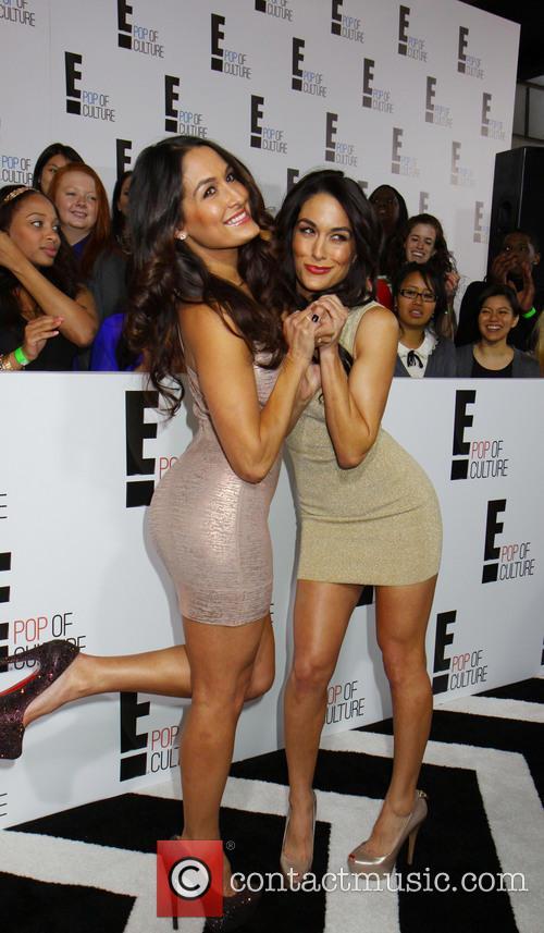 Nicole Garcia, The Bella Twins and Brianna Monique Garcia-colace 1