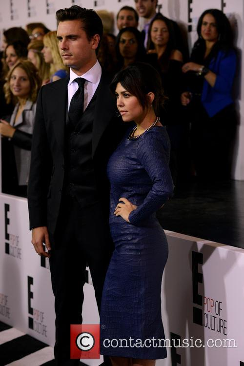 Scott Disick and Kourtney Kardashian 1