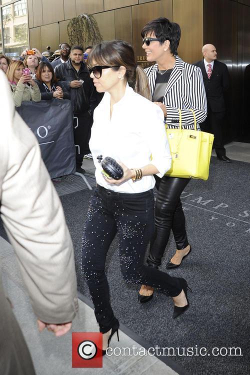 Kourtney Kardashian and Kris Jenner 1