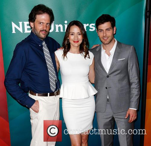 Silas Weir Mitchell, Bree Turner and David Guintoli 3