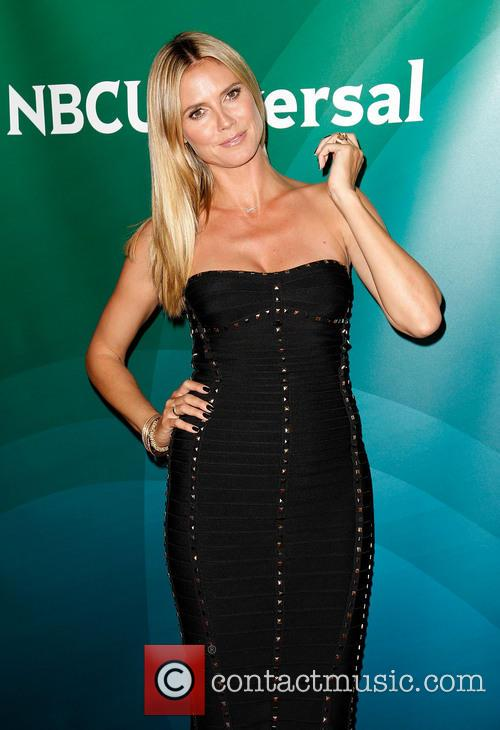 Heidi Klum, The Langham Huntington Hotel and Spa