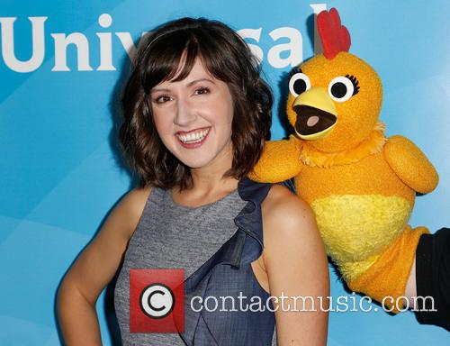 Kelly Vrooman and Chica The Chicken 6